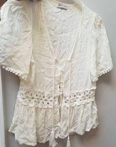 💞 XL Fashion Nova Top - White